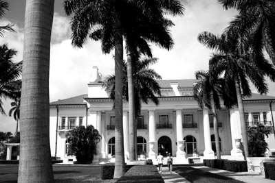 The Flagler Museum facade